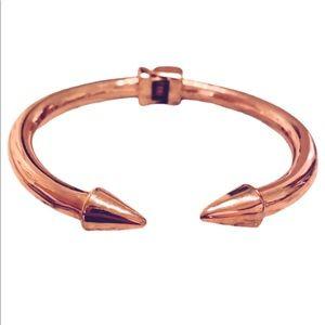 Kinsley Armelle Rose Gold Cuff Bracelet